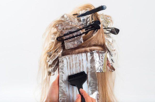 narzędzia w zakładzie fryzjerskim