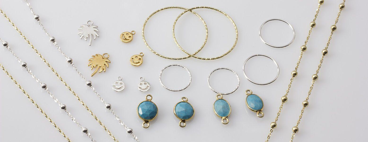 Półfabrykaty i półprodukty do biżuterii